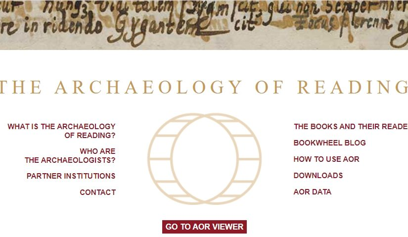 The Archaeology of Reading, COVID-19, and online teaching